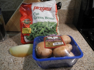 ingredients holiday green beans